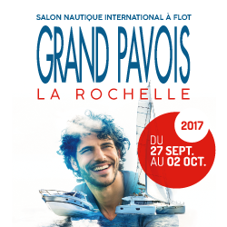 GRAND PAVOIS Boat Show at La Rochelle: pontoon 2, from Wednesday the 27th of September to Monday the 2nd of October 2017 !!