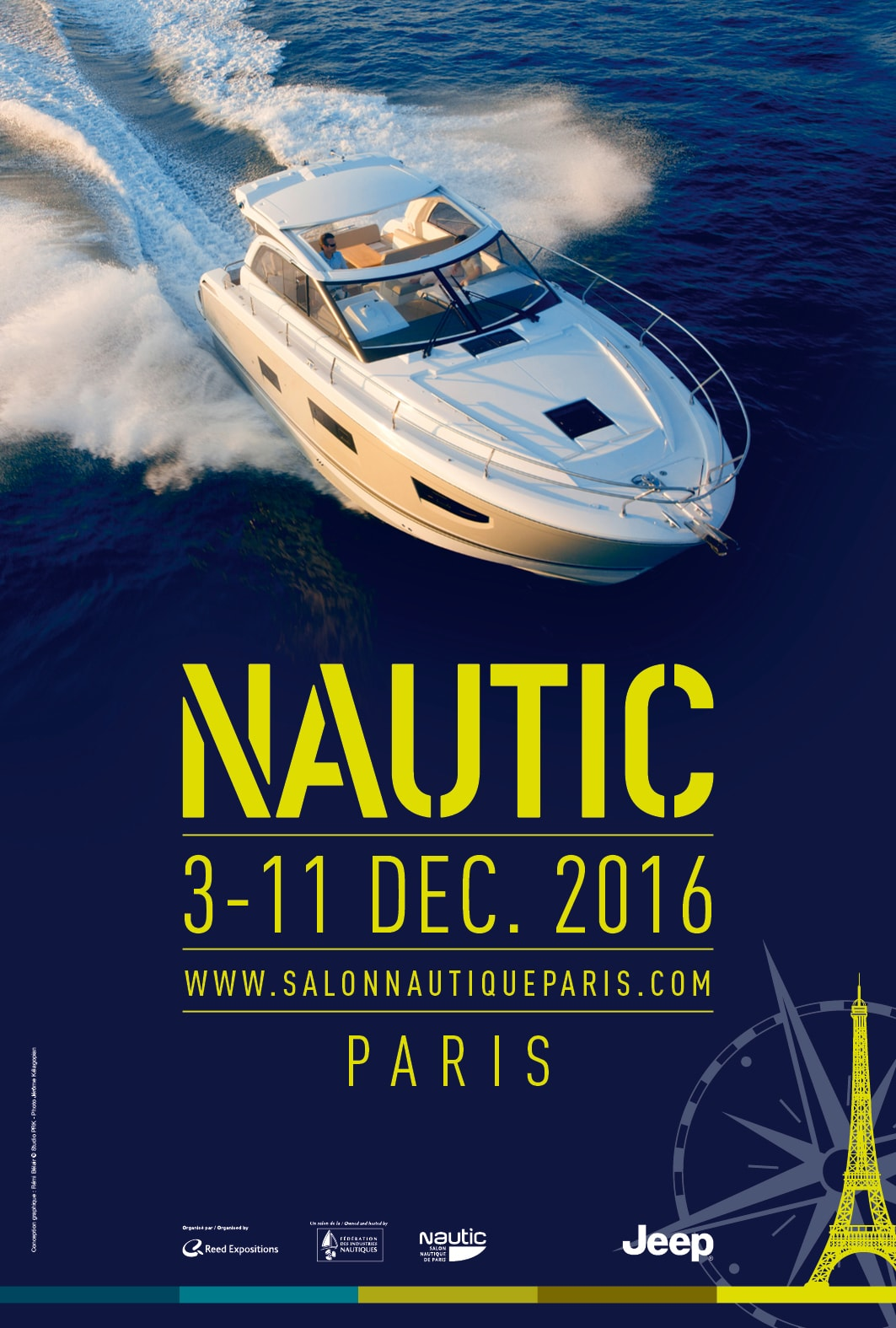 Meet OCQUETEAU at Paris boat show
