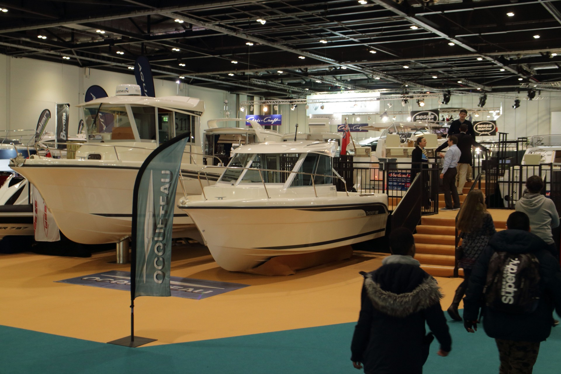 OCQUETEAU at LONDON BOAT SHOW 2015