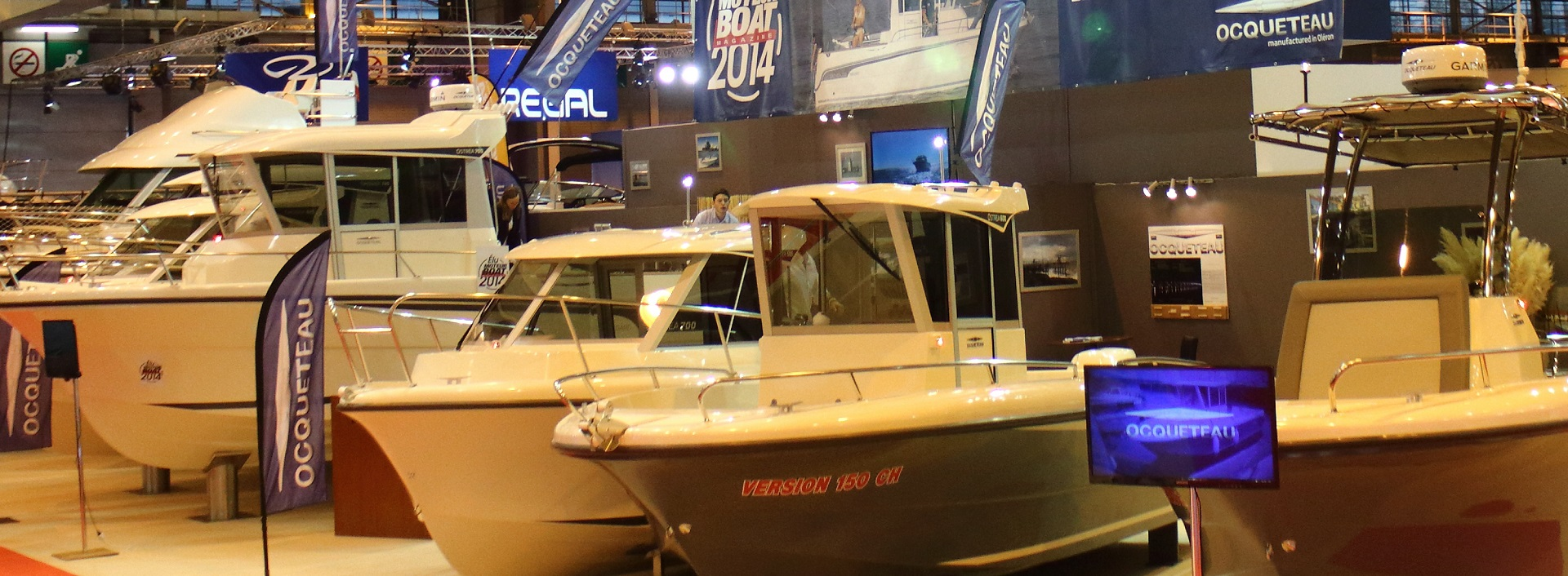 OCQUETEAU and EC Leisurecraft will be at London Boat Show