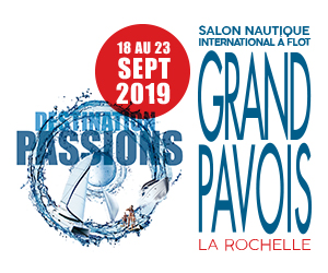 GRAND PAVOIS Boat Show at La Rochelle !! Ponton 1, from Wednesday the 18th to Monday the 23rd of September