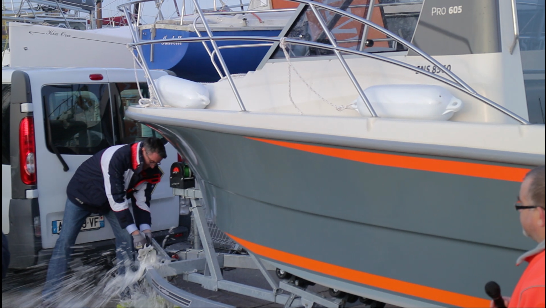 Launch of the second TIMONIER 605 of french sea recue association
